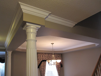 Crown Moulding Profiles Crown Cornice Molding Types Styles Designs - Cornice crown moulding toronto wainscoting coffered ceiling