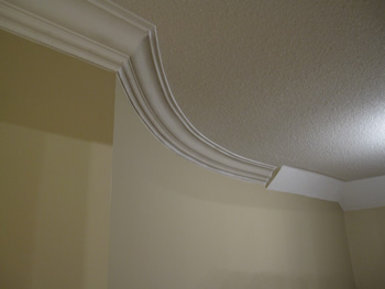 Images Picture Gallery Crown Moulding Work Installtion Toronto - Cornice crown moulding toronto wainscoting coffered ceiling