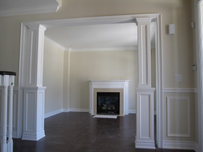 Images picture gallery crown moulding work installtion for Interior molding designs
