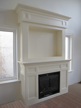 Wall Units, Fireplace Mantels