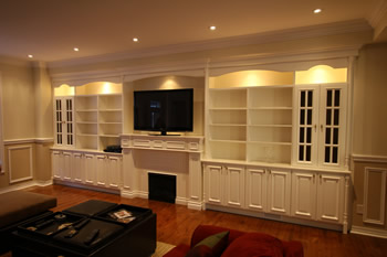 intertaiment wall units Toronto manufacturing installation book ...